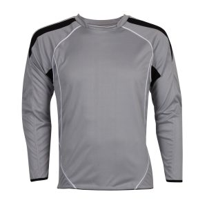 Football Goalie Top Light Grey with Padded Elbows