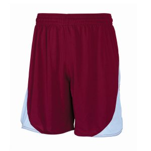 Claret and Blue School Football Shorts