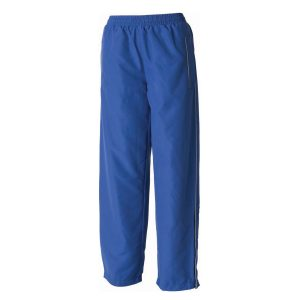 Blue School Reflector Tracksuit Bottoms