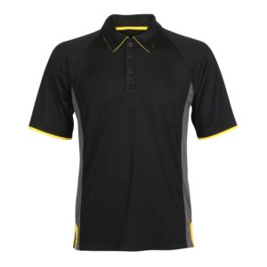 Unisex Polo Shirt with contrast detail