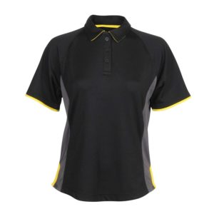 Girl Fit Polo Shirt with contrast detail