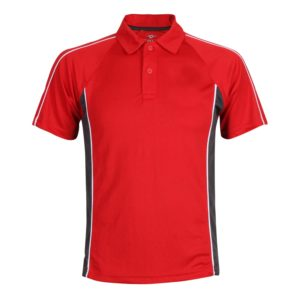 Sports Polo with Piping and Panels