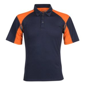 Unisex Polo with Panels