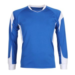 plain football shirt for schools front view
