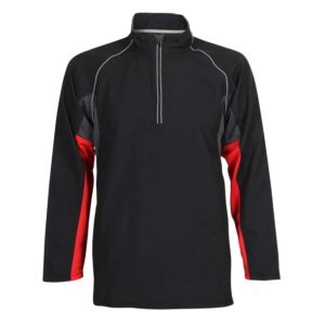 Unisex training top front view