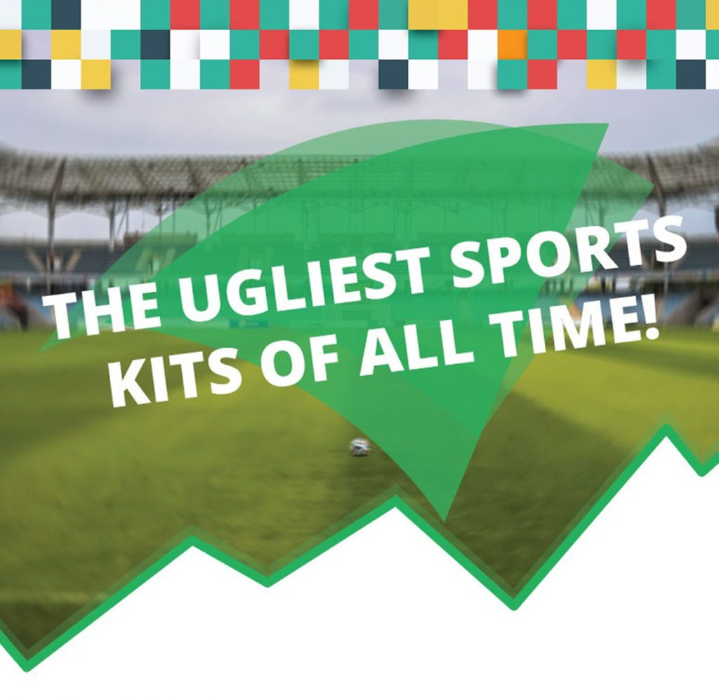 ugliest sports kits of all time infographic